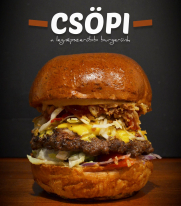 Csöpi hamburger