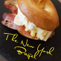 A New York-i bagel