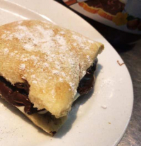 Nutella mini calzone
