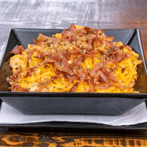 Bacon and cheddar Mac & Cheese