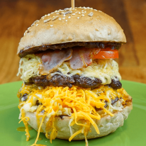 Super Cheese burger