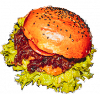 Karamell hamburger