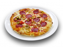 Pizza Pepperone, Salame