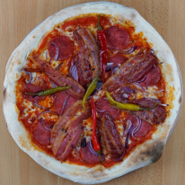 11. Ungherese pizza