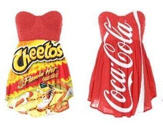 divatos junk food ruhák