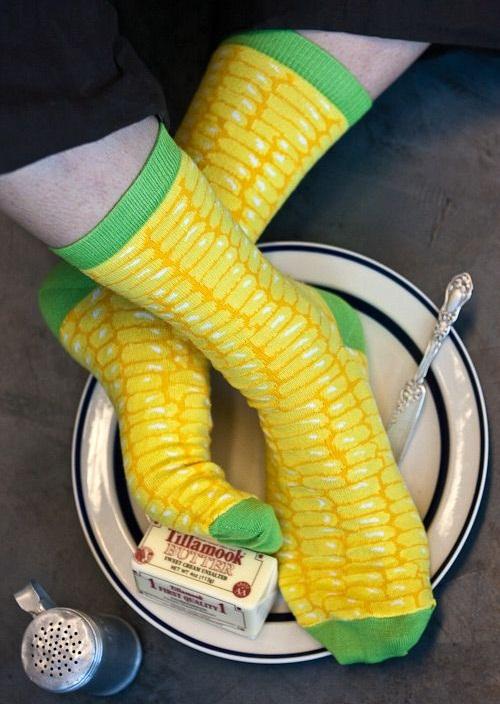 kukoricás zokni