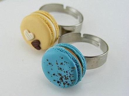 macaron gyűrű