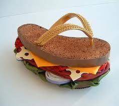 szendvics papucs