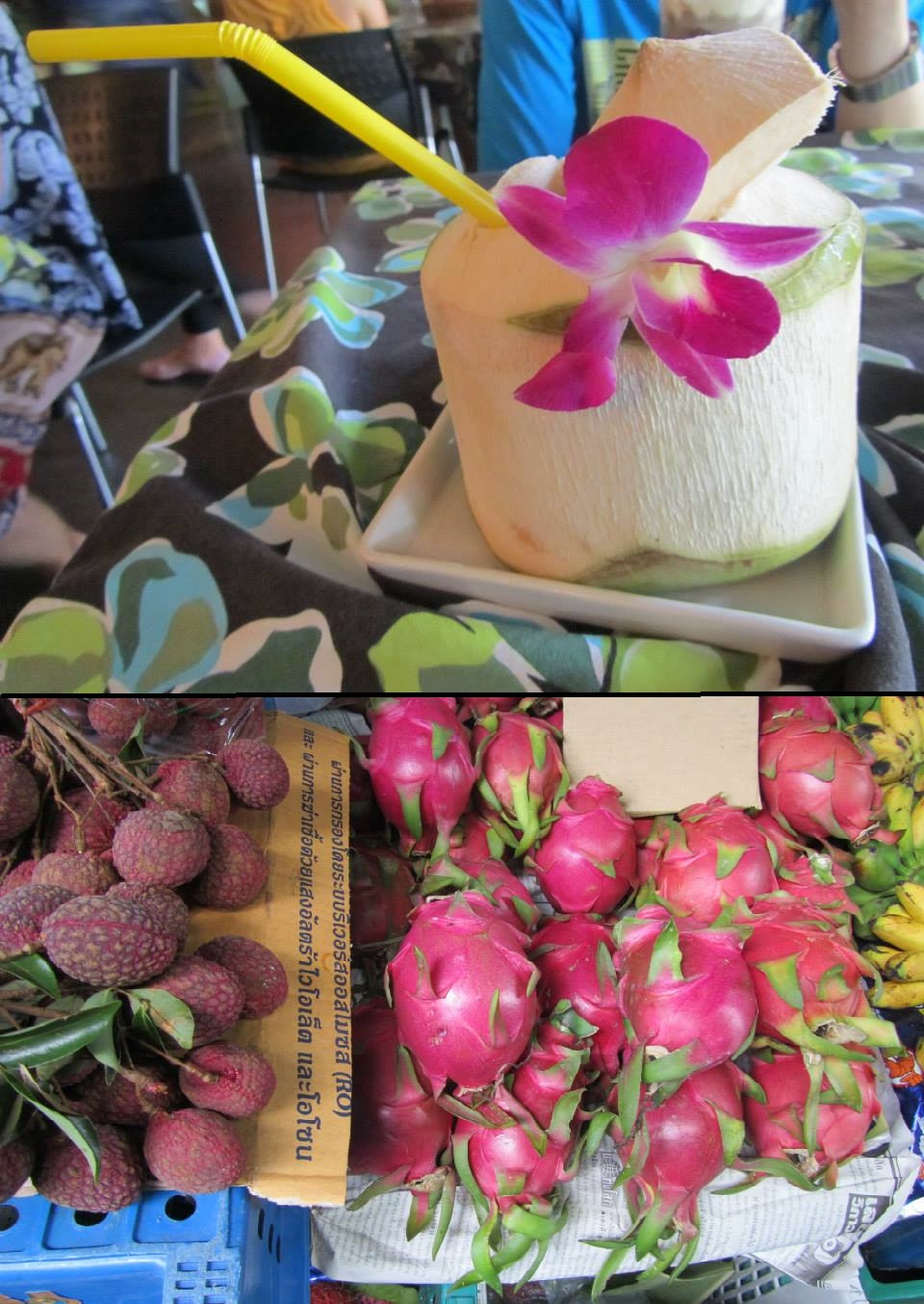 thai gyümölcsök