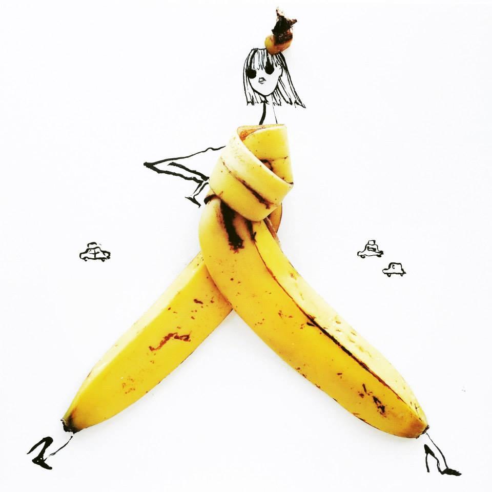 Gretchen Roehrs igazi banánszoknyája