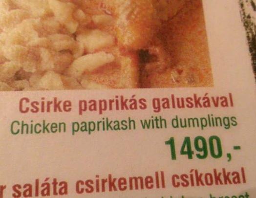 étlapfordítási hiba