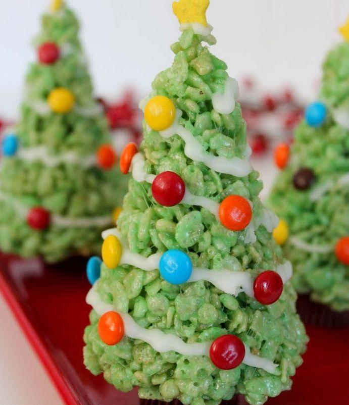 karácsonyfa torta