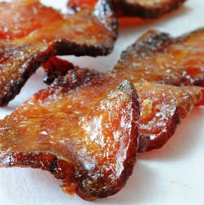 bacon cukorka