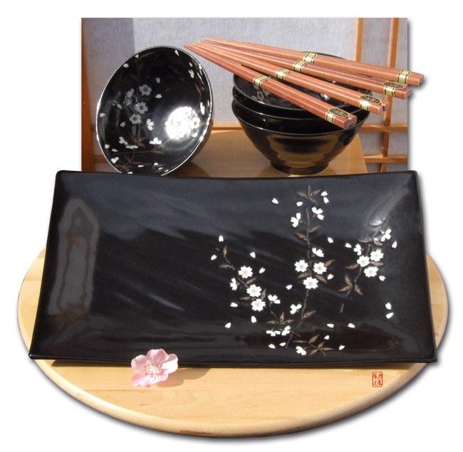új japán tányér
