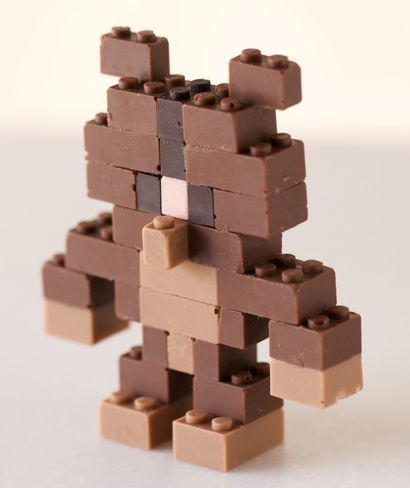 Lego csokifigura