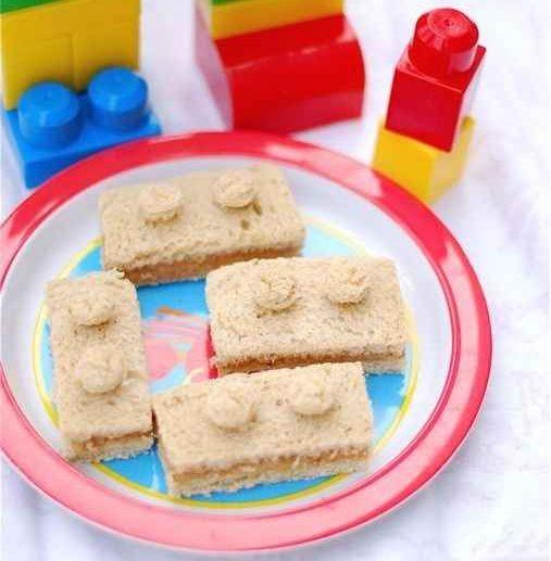Lego szendvicsek