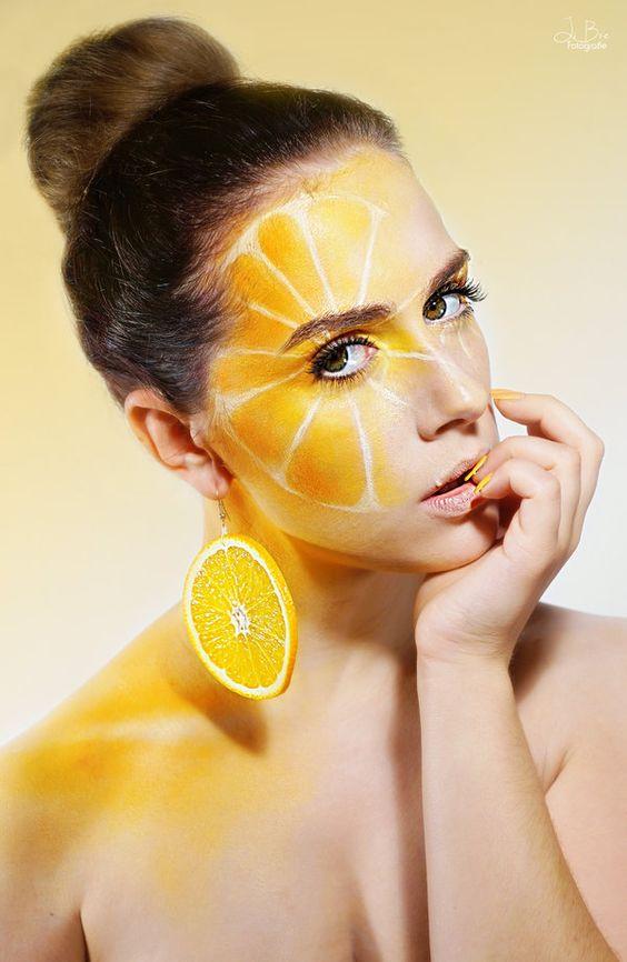 narancsos divatkép