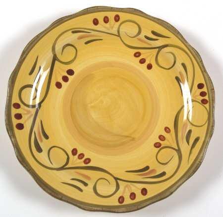 új olasz tányér