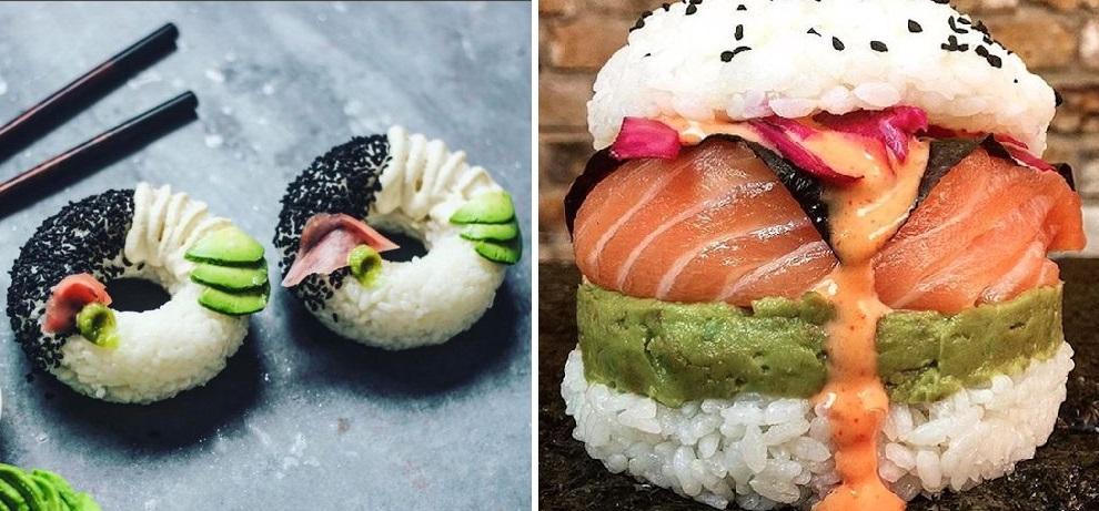 sushifánk és sushihamburger