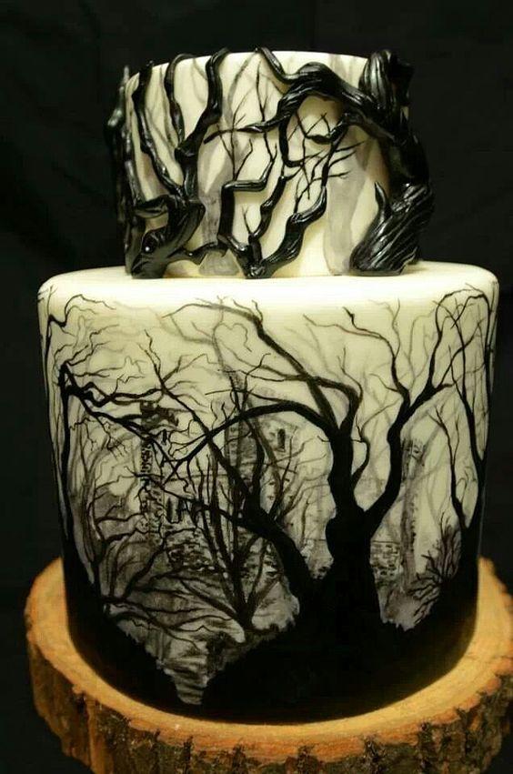 sötét erdős torta