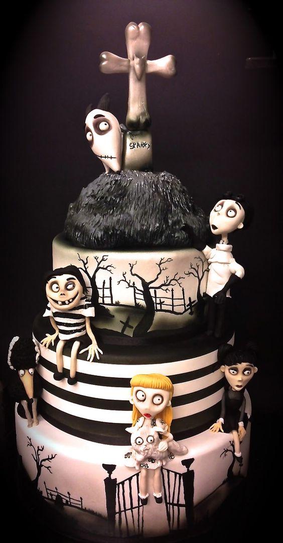 Tim Burton torta