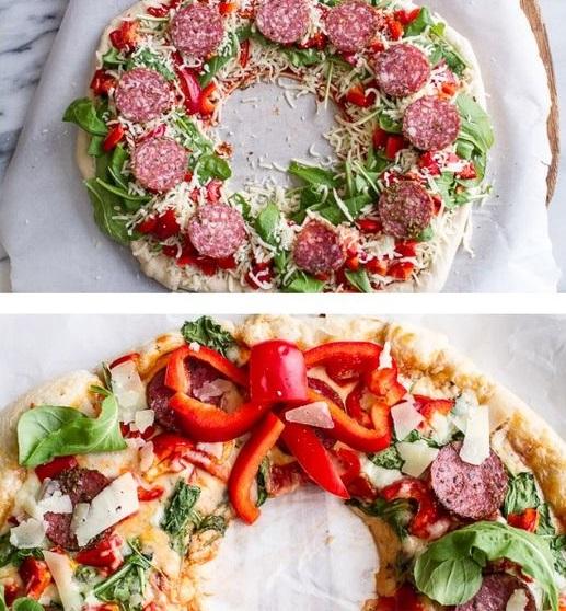 koszorúpizza